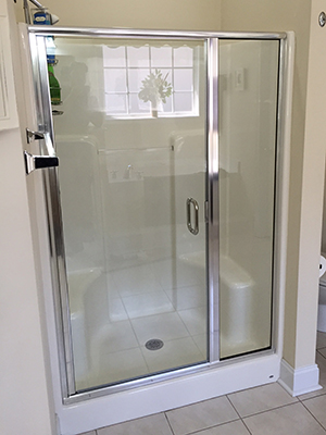 Elite Glass And Mirror Myrtle Beach SC Glass Repair Frameless - How to install bathroom door